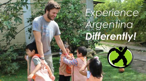 Volunteer with kids projects in Argentina
