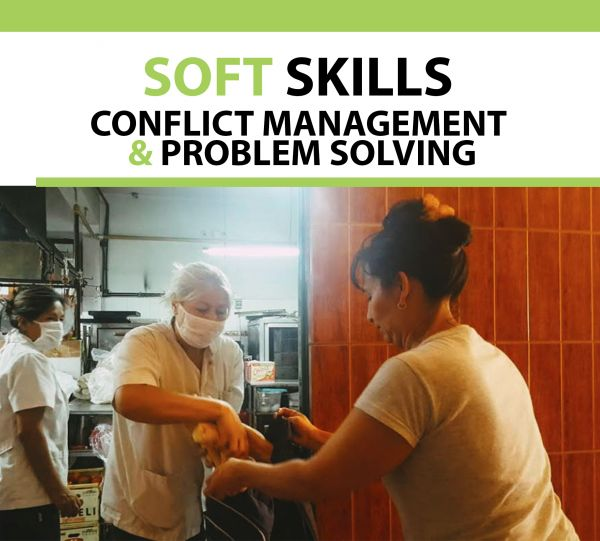 Soft Skills Certificate Conflict Management and problem solving