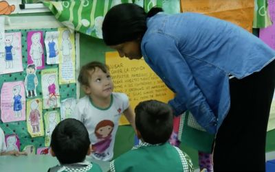 Jessica's Volunteer Experience in the Kindergarten