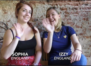 Sophia and Izzy's Experience Teaching English