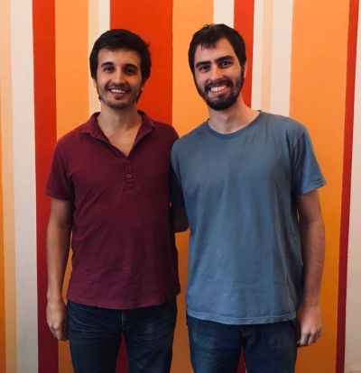 Francisco (left) and Joaquín (right), our new coordinators